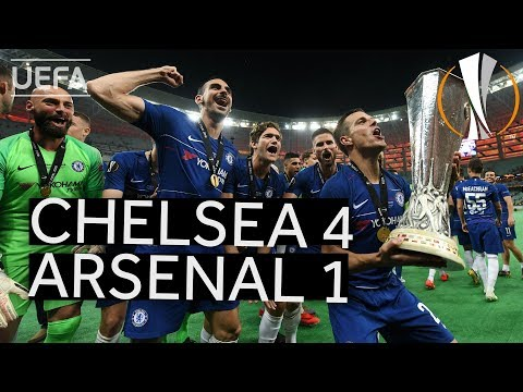 CHELSEA 4-1 ARSENAL #UEL FINAL HIGHLIGHTS