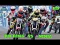 foto DUEL RX KING VS NINJA Road Race Karawang Seri 3 Class Sport 150cc STD OPEN Borwap