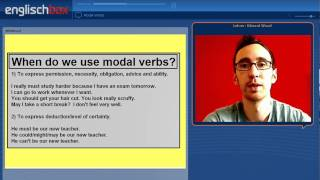 Learn English | Modal Verbs