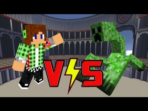 【Minecraft】トムVSミュータントクリーパー