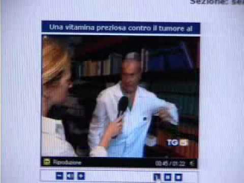 Prof. Veronesi Umberto parla di Fenretinide (analogo sintetico retinoide vitamina A)