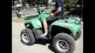 7. Parting Out A Running 2008 Arctic Cat 700 EFI ATV