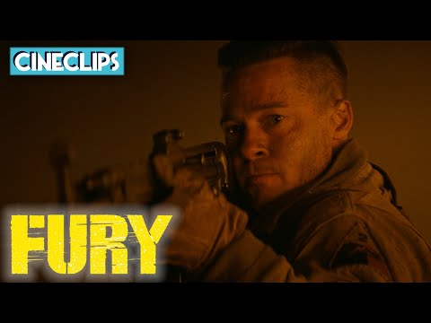 Setting The Trap For Nazi Troops   Fury   CineClips