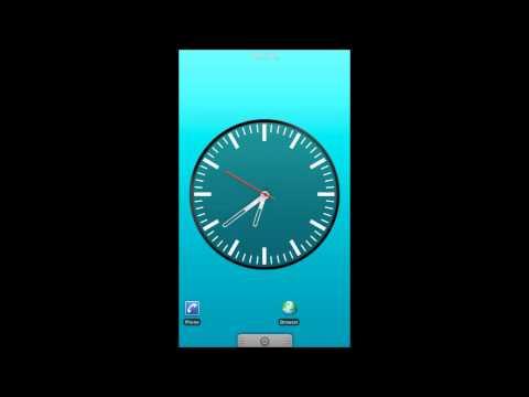 Video of Simple analog clock