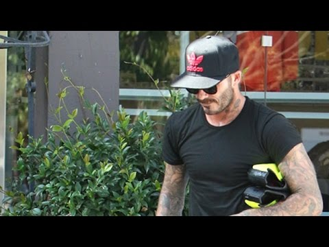 David Beckham Is Asked About Brooklyn And Chole Moretz