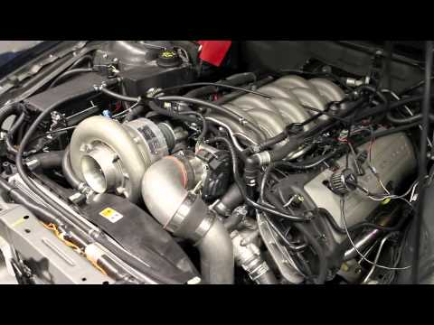 Supercharged Coyote engine puts out 1000+ RWHP