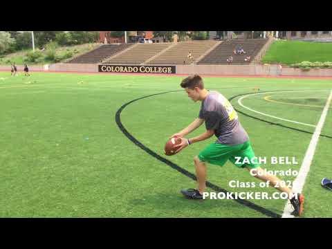 Zach Bell, Prokicker.com Punter, Class of 2020