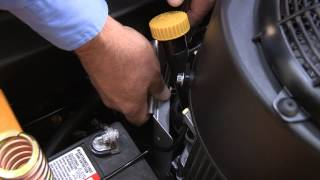 8. How to Change the Filter and Oil on RZT  Zero-Turn Riding Mowers