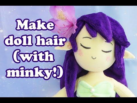 Plush Doll Hair Tutorial