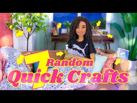 DIY - How to Make: 7 Random Quick Crafts | Lemon Tree | Hand Sanitizer | Phone Charger & more