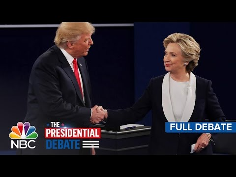 Video The Second Presidential Debate: Hillary Clinton And Donald Trump (Full Debate) | NBC News download in MP3, 3GP, MP4, WEBM, AVI, FLV January 2017