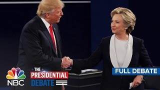 The Second Presidential Debate: Hillary Clinton And Donald Trump (Full Debate) | NBC News