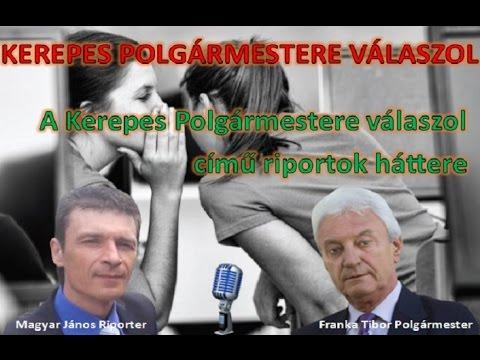 Kerepes Polgármestere válaszol 8. - 2016.06.13. A műsor háttere