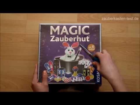 Magic Zauberhut unboxing Zauberkasten Test