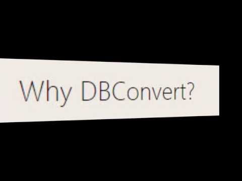 [ Db Converter Software ] - The Best Database Converter Tool
