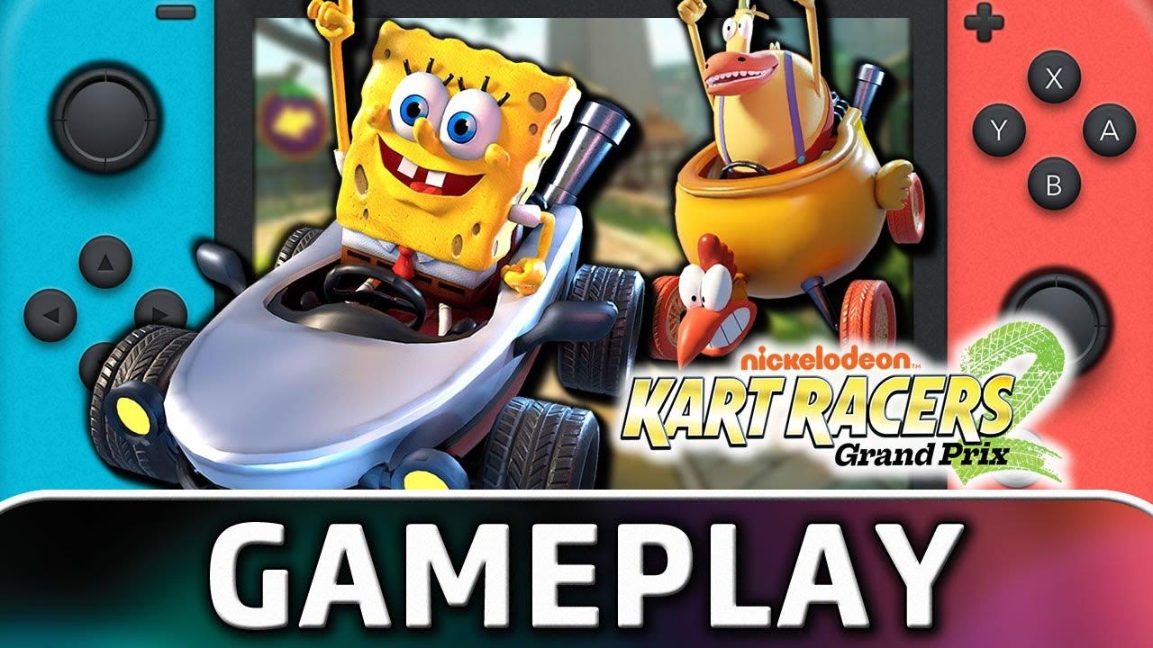 Nickelodeon Kart Racers 2: Grand Prix | Nintendo Switch Gameplay