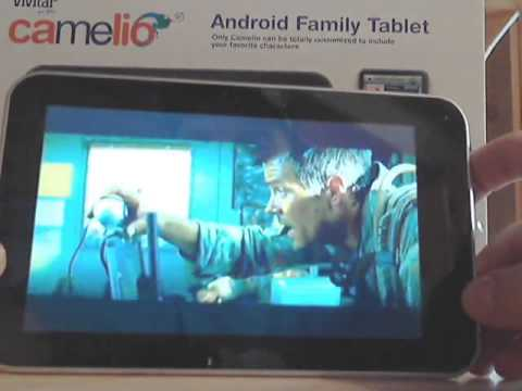 Vivitar's Camelio Android Family Tablet Video Review