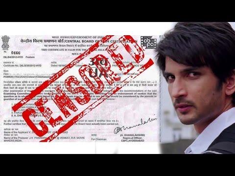Sushant Singh Rajput's Take On Censor Board's List