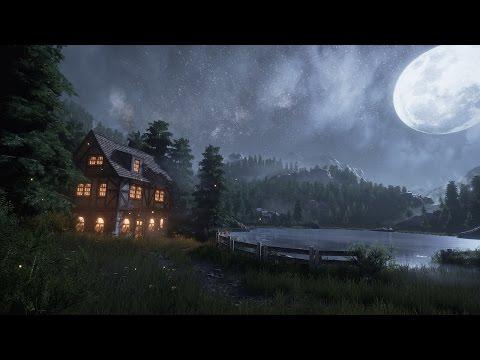 [Design] Creating a quick Unreal Engine 4 Night/Lake Scene