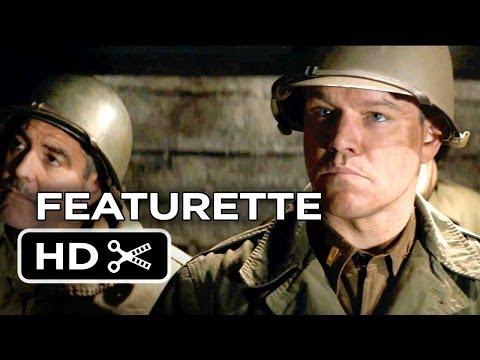 The Monuments Men Featurette #1 (2013) – Matt Damon, George Clooney Movie HD