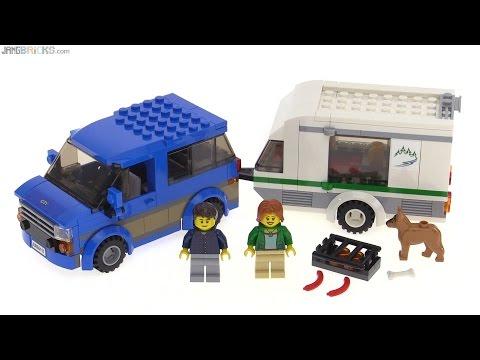 "Конструктор Lego City 60117 ""Микроавтобус и фургон"""