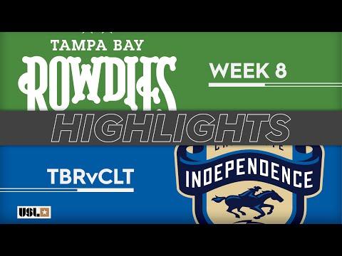 Tampa Bay - Шарлотт Индепенденс 1:1. Видеообзор матча 28.04.2019. Видео голов и опасных моментов игры