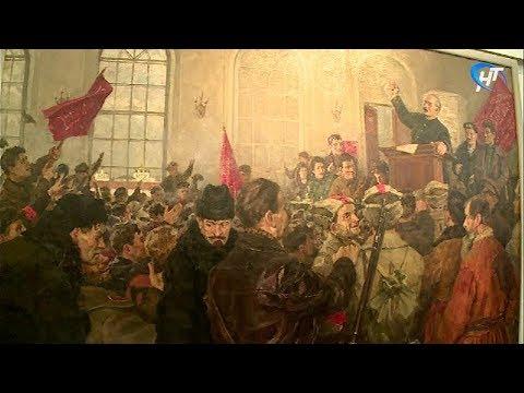 Залы Новгородского музея наполнились духом «красного» октября