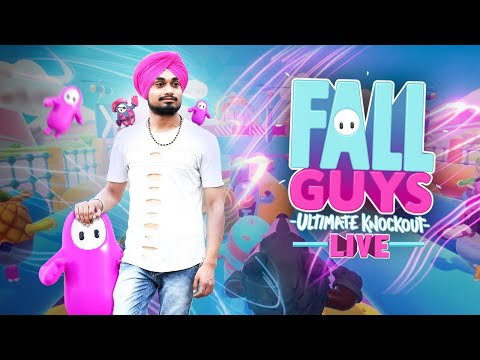 Fall Guys Live Stream Hindi / Fall Guys Gameplay | UNIQUEISLIVE