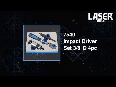 7540 Impact Driver Set 3/8