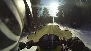 6. Ski-Doo Mxz 600 adrenaline trail riding.... Fast!
