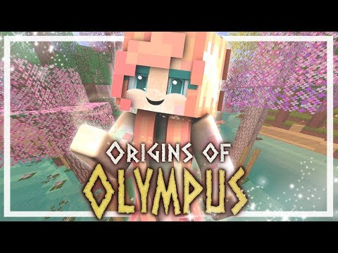 Origins of Olympus | EP 1 | Daughter of Aphrodite! (Minecraft Percy Jackson Roleplay)