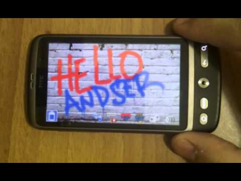 Video of Spray Painter Andser