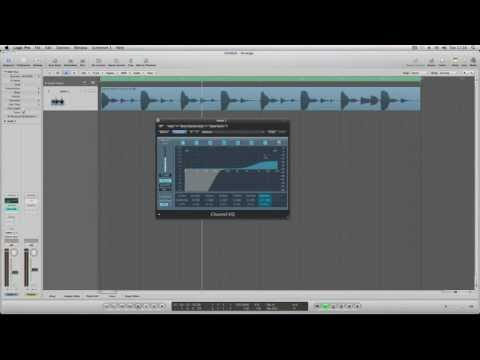 Logic Pro 9  Tutorial – Channel EQ  [ProducerPack.com Tutorial]
