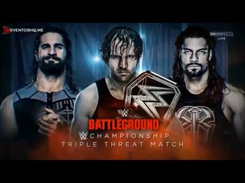 PROMO Battleground  Dean Ambrose Vs Seth Rollins Vs Roman Reigns   This Is A War