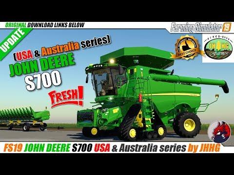 John Deere S700 North/South America & Australia official v1.1
