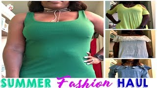 Hey Family!I've been shopping over the last few weeks and today I'm sharing with you some clothing pieces picked up. I hope you are having a great summer thus far. I appreciate each of you for all your continued support. If you are new here please hit that subscribe button before you leave.Thanks For Watching!---MissFeMariePLEASE SUBSCRIBEI would LOVE to have you a part of the FeMarie familyLET'S SOCIALIZE!INSTAGRAM: @miss_femarieSNAPCHAT: @missfemarie3All business inquiries: feliciacole71@gmail.com