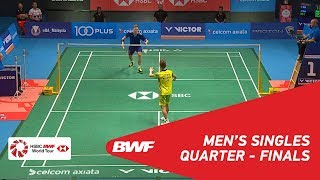 Video MS | Viktor AXELSEN (DEN) [1] vs LEE Chong Wei (MAS) [7] | BWF 2018 MP3, 3GP, MP4, WEBM, AVI, FLV November 2018