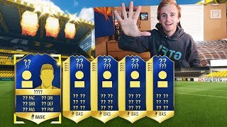 In the FIFA Ultimate Team Squad Builder Challenge (SBC) that you get a 125K pack from, we packed 5 team of the season players!Tweet me what you guys got in your packs because I know there were some crazy ones! Please leave a like and subscribe for more content :)Enjoy the song? Check out Vexento! :https://www.youtube.com/channel/UCYZ9rknEmE4R1J_HBJ2yBlQSong name: Verve https://www.youtube.com/watch?v=c6TTps_yYYk Get Buck Merch! ► http://Buckarmy.com Buck's Social Media► Twitch: https://www.twitch.tv/buckarmy► Twitter: http://twitter.com/buckarmy► Instagram: https://www.instagram.com/buck_tv_official/?hl=en► Snapchat: C_Buck8
