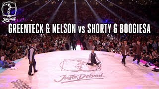 Greenteck & Nelson vs Shorty & Boogiesa – Juste Debout 2018 Popping Quarter Final
