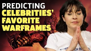 Warframe's Rebb Ford Predicts 23 Celebrities' Favorite Frames by GameSpot