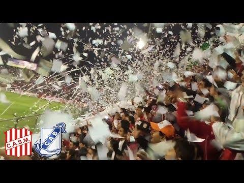 Recibimiento de San Martín vs Guillermo Brown - La Banda del Camion - San Martín de Tucumán