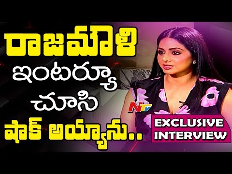 Actress Sridevi Exclusive Interview || MOM