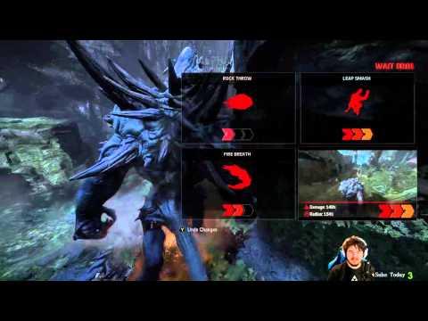 Evolve Xbox One Alpha Goliath Gameplay
