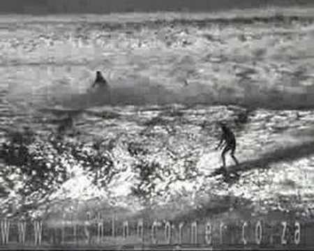 Tow in surfing Durban