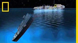 CGI Of How Titanic Sank