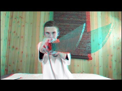 3D - More 3D http://goo.gl/70TOu 3D Video that is the most crazy 3D video you will ever see. I take a real machete and turn it on right at your face in 3D. This 3...