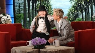 This might be one of the most memorable guests in the history of The Ellen Show