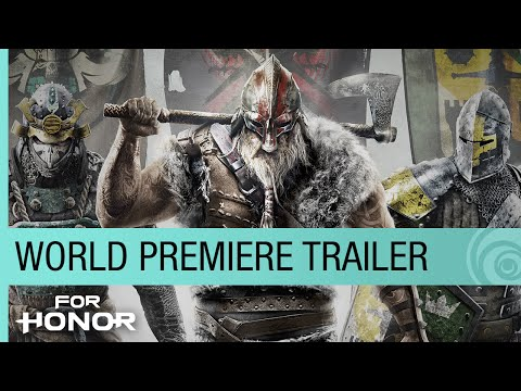 For Honor World Premiere Trailer — E3 2015