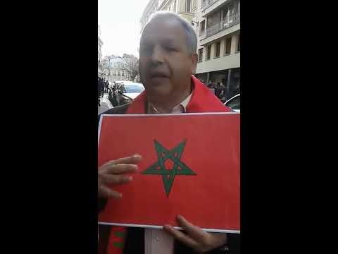 PARIS 11 MARS Participation de l'AEDMEAF A UNE MARCHE POUR L'UNION DU GRAND MAGHREB