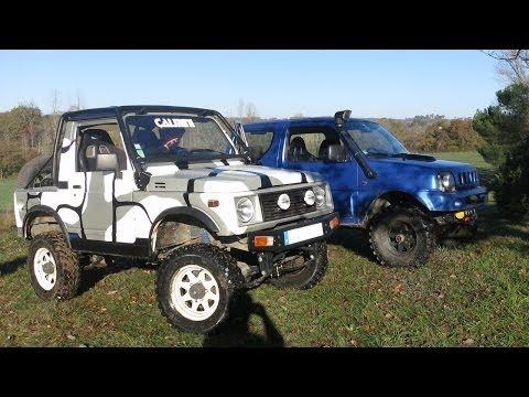 Suzuki Samourai Zanfi VS Suzuki Jimny - Offroad